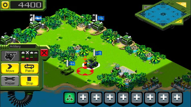 Tropical Stormfront (RTS) screenshot-2