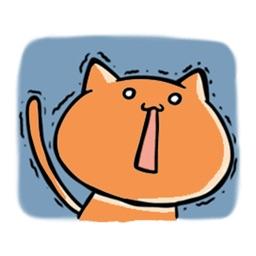 Warm Kitty Stickers