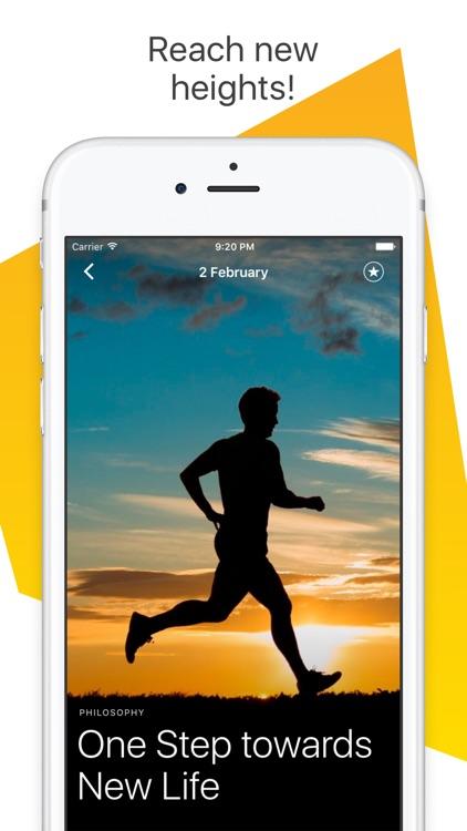 MotiDay - Daily Motivation! Inspiration & Lifehack screenshot-4