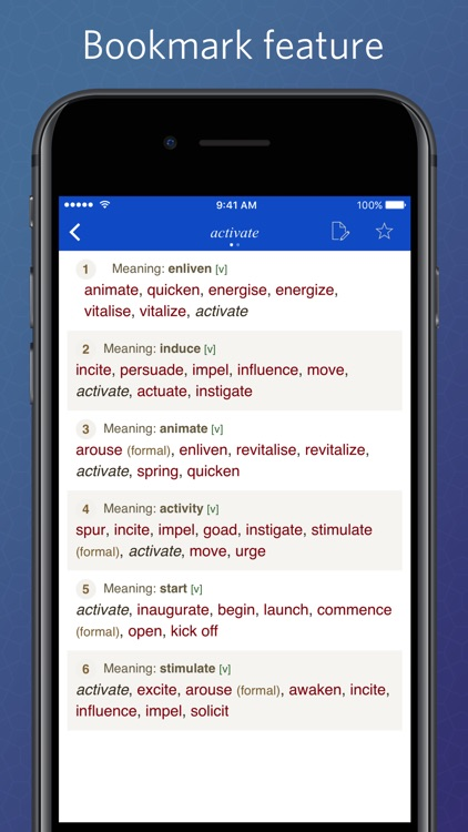 English Synonym Dictionary by Bui Hoai Trang