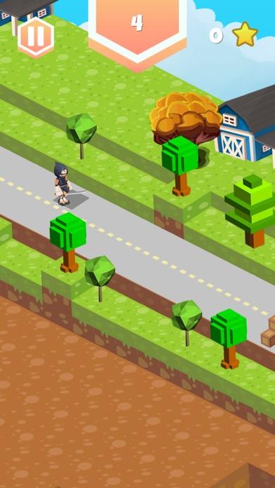ninja runner challenge endless Screenshot on iOS