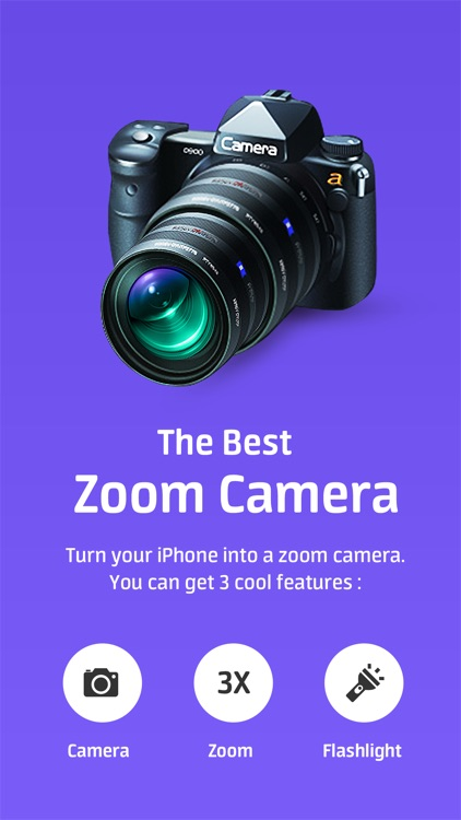 Super Zoom Telephoto Camera