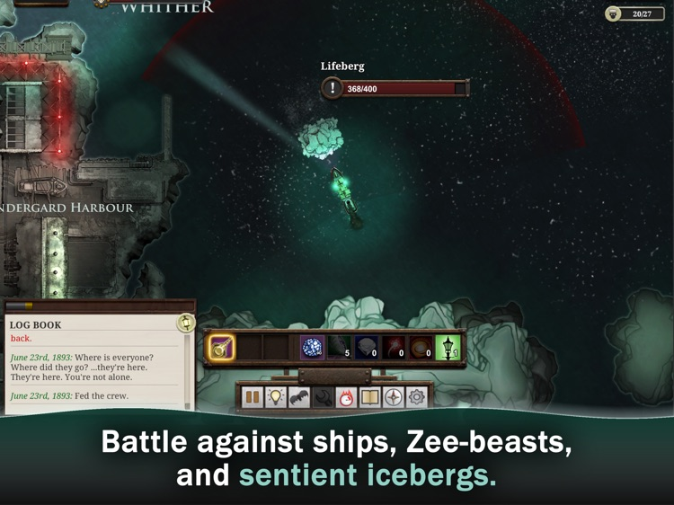 Sunless Sea screenshot-2
