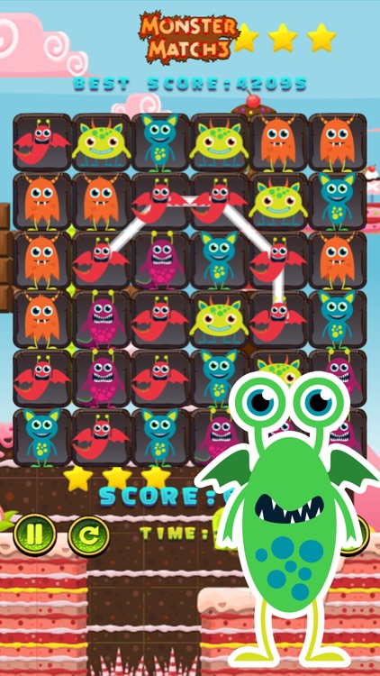 Puzzle Monster Mania - Match 3