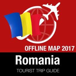 Romania Tourist Guide + Offline Map