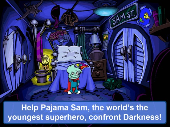 Pajama Sam: No Need To Hide When It's Dark Outside | App ...
