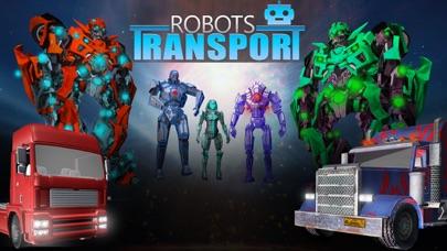 机器人运输 - 大型拖车卡车模拟器3D App 截图