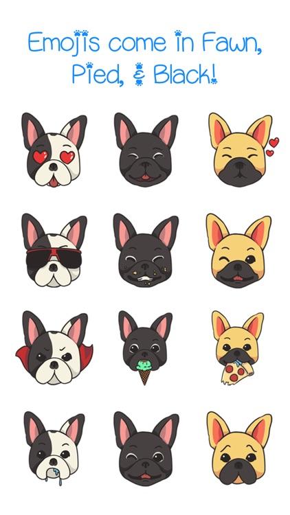 FrenchieMoji - French Bull Dog Emojis & Stickers screenshot-3