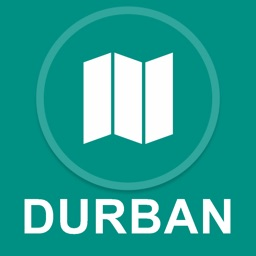 Durban, South Africa : Offline GPS Navigation