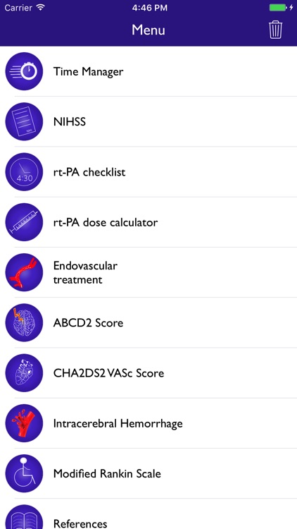 NIH Score & stroke tools screenshot-0