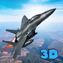 War Air Strike Attack: Jet Bombing Plane