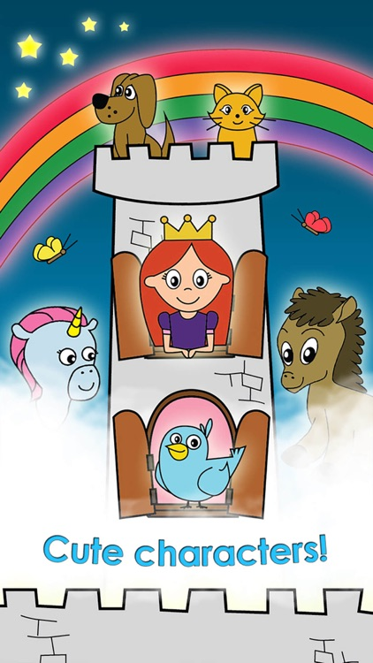 Princess Games for Girls Games Unicorn Kids Puzzle screenshot-3