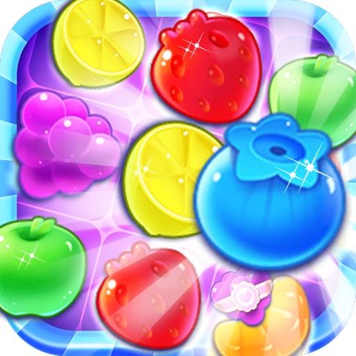 Fruit Bomb Blast 2017:Free Match-3 Puzzle Game iOS App
