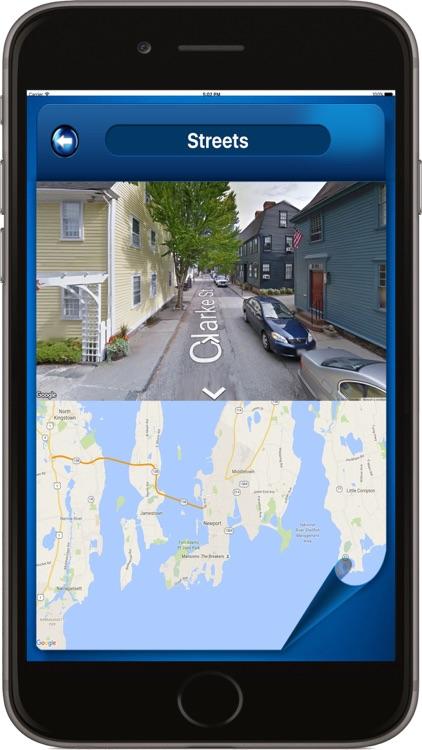 Newport Rhode Island - Offline Maps navigator screenshot-4