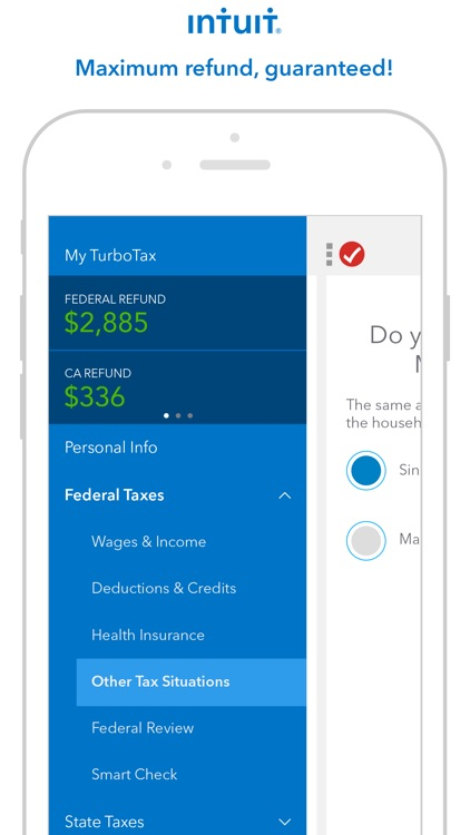 TurboTax Tax Return App - File 2016 income taxes screenshot-0