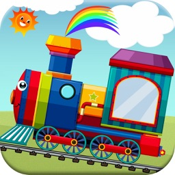 Shapes and Colors for Toddlers Train Games Free