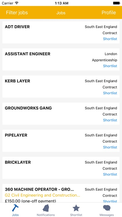 Jobsnapps screenshot-1
