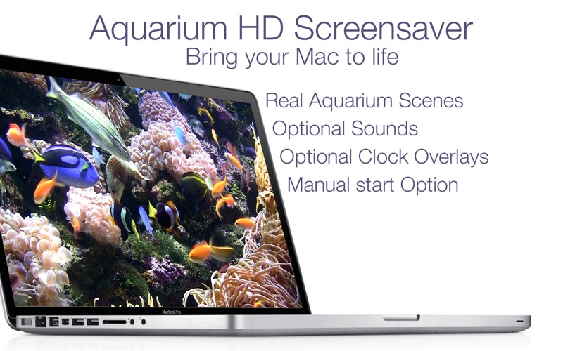 Aquarium Live HD+ Screensaver Screenshots
