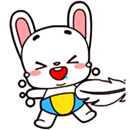 Baby Rabbit - Animated Stickers And Emoticons