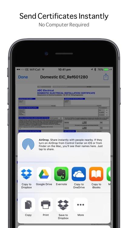 iCertifi screenshot-3