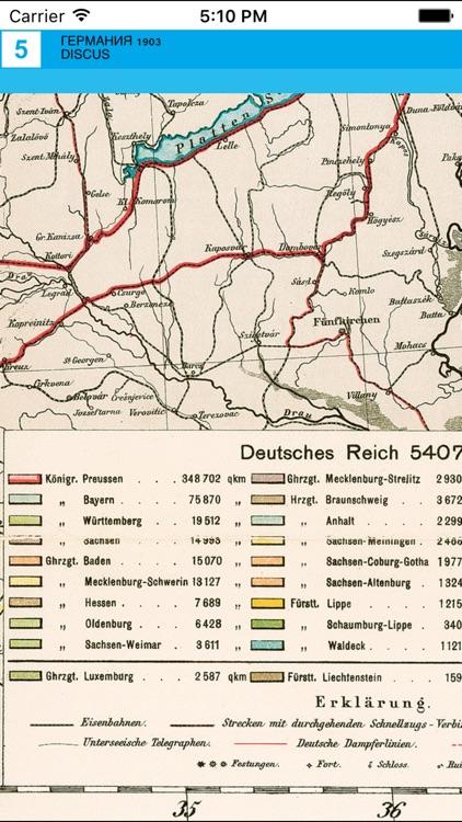 Germany 1903. Historical map. screenshot-4