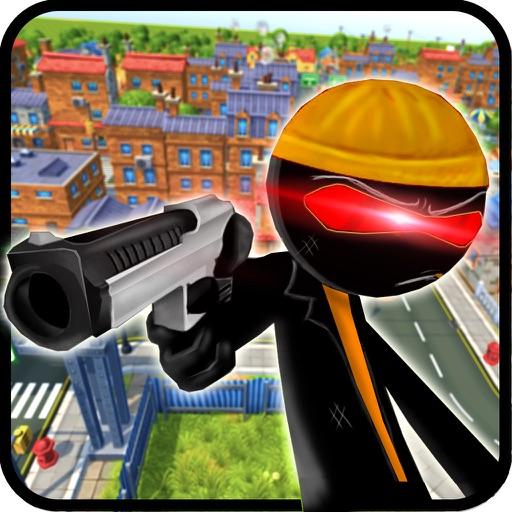 Stickman Mafia City Crime 3D