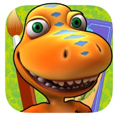 Activities of Dinosaur Train: Paint and Match
