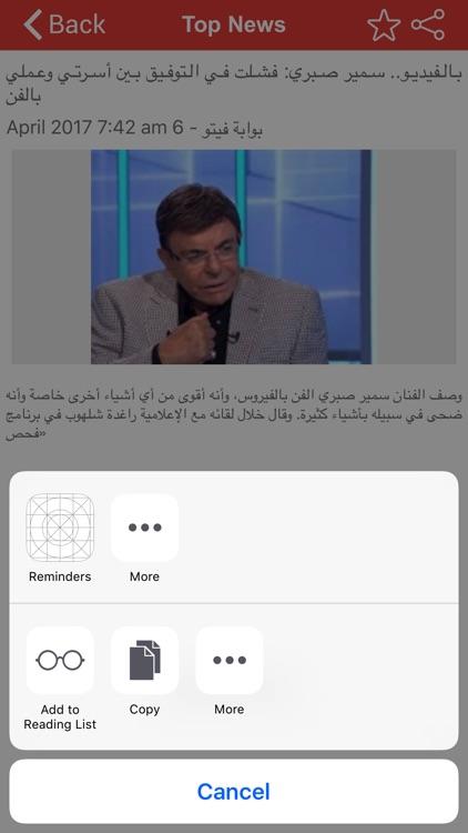 Top Egypt News screenshot-3