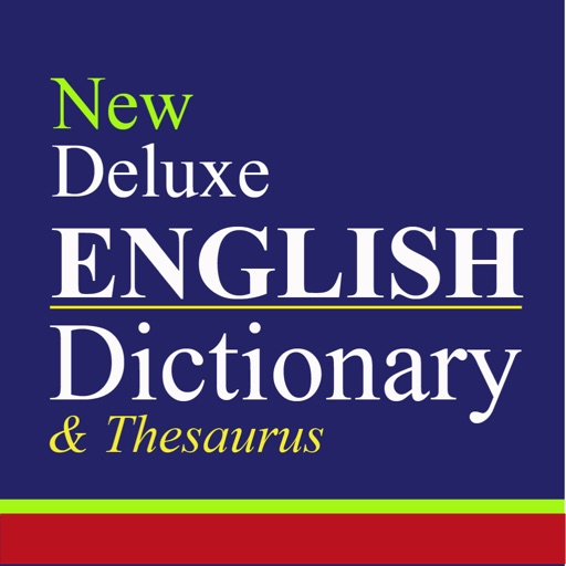 New Deluxe English Dictionary And Thesaurus