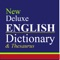 New Deluxe Dictionary And Thesaurus is designed with New Deluxe Dictionary, New Deluxe Thesaurus Dictionary contents and excellent function and skin