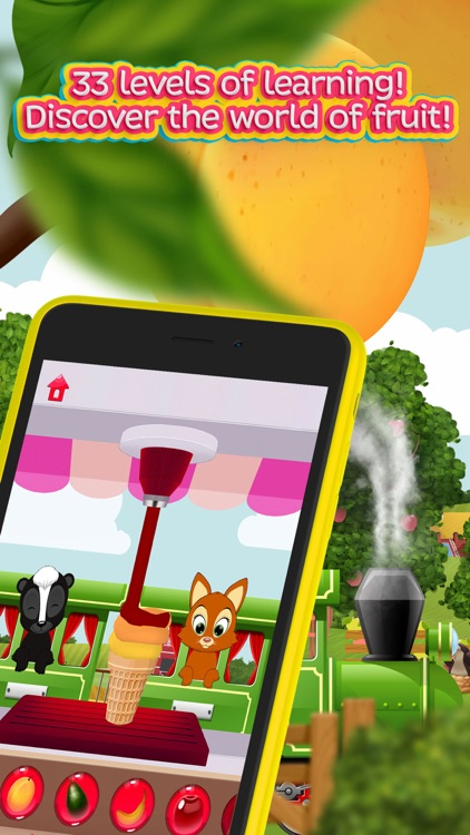Moona Puzzles Fruits learning games for toddlers screenshot-0