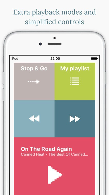 Stop&Go+ Music Player screenshot-0