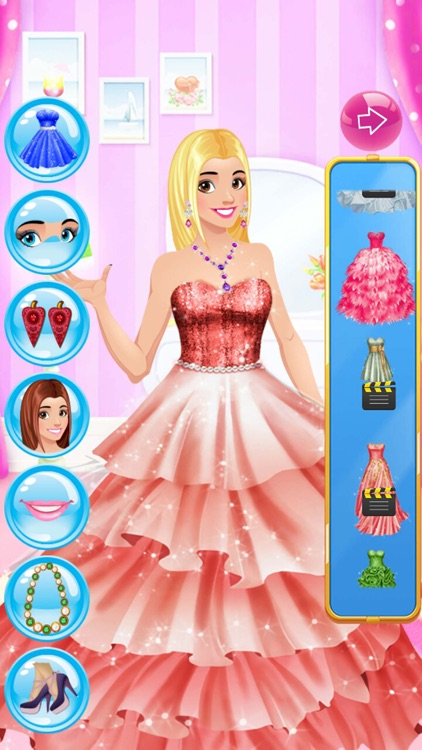 Princess Stylist Girls Dress Up and Makeup Salon screenshot-3