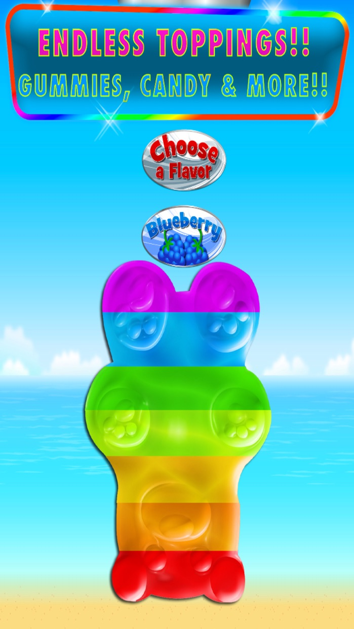 Ice Cream Popsicles Games: Frozen Ice Cream FREE Screenshot