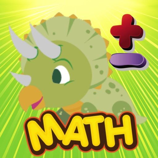 Dinosaur math learning games for kids in 1st grade