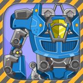 组装万能机器人 - 超级机甲单机拼图游戏