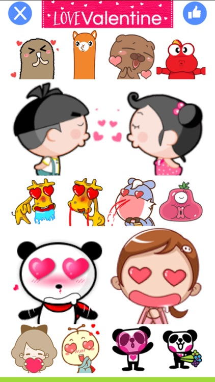 LoveValentine - Stickers for Messenger & WhatsApp screenshot-3