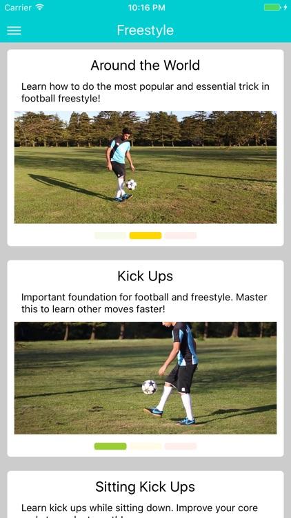 Learn Football App screenshot-3