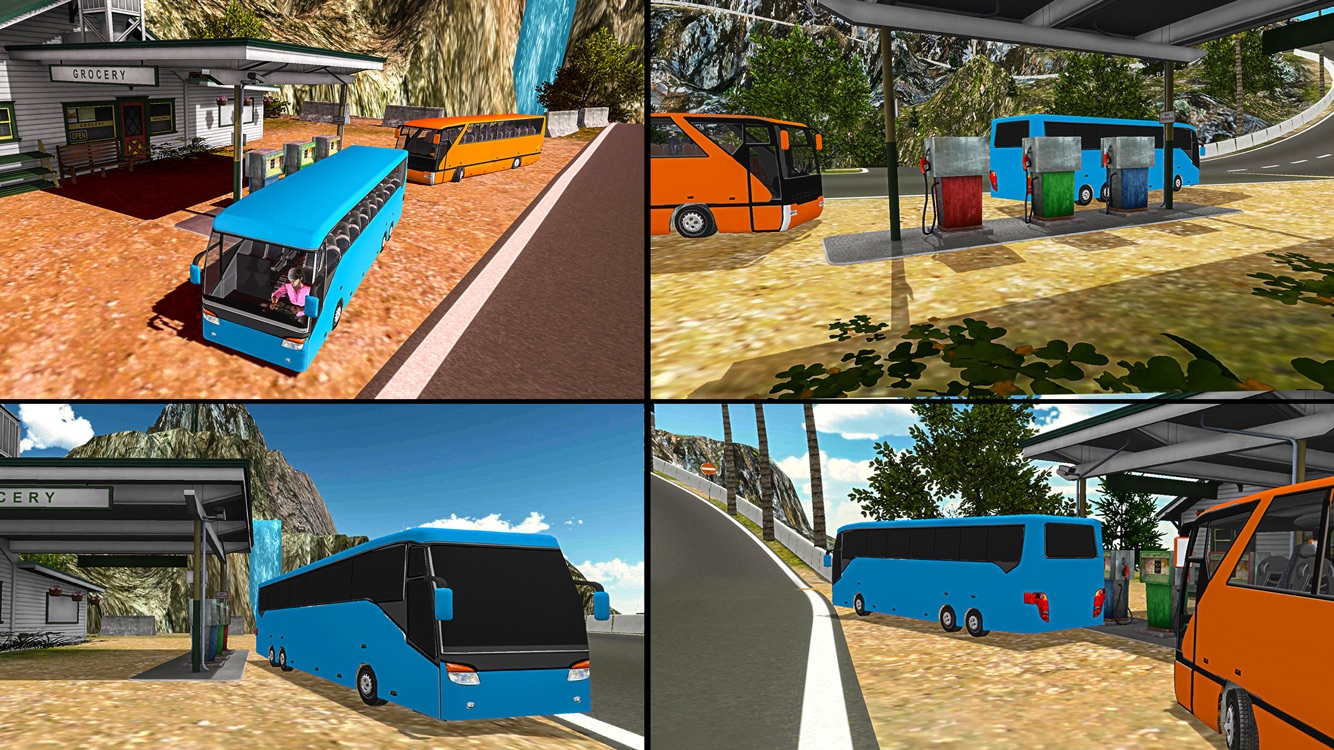 Off-Road Coach Bus Simulator Screenshot