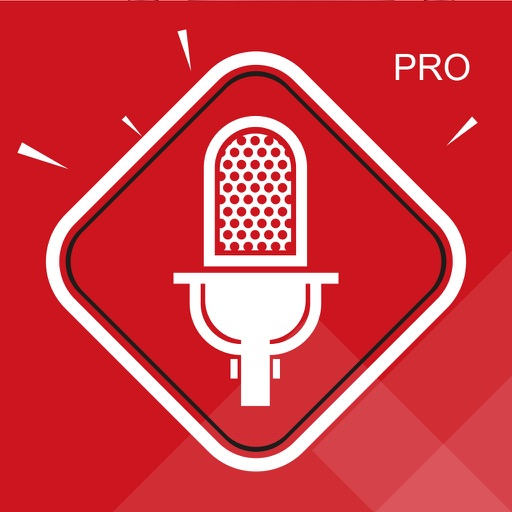 Voice Memos for iPhone and Watch PRO app logo