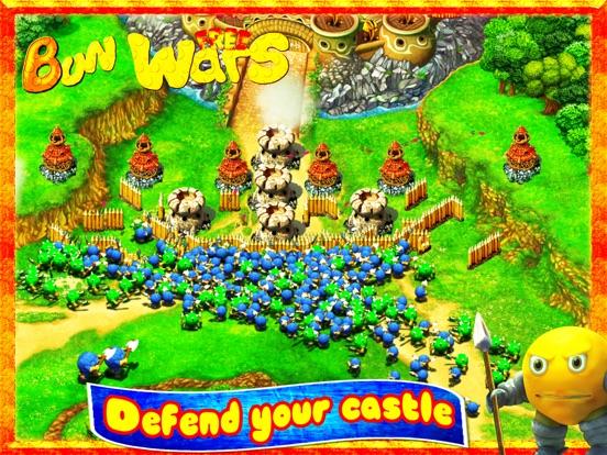 Колобки: Война и Драки! Игры стратегии бесплатно на iPad