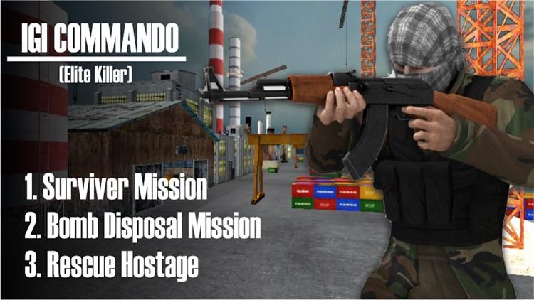 IGI Commando Marine Ship Rescue Hostage screenshot-4