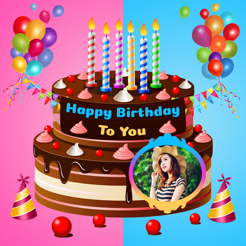 My Name Photo Birthday Cake on the App Store