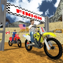Kids Dirt Motorbike - Xtreme Moto Cross Trial Bike