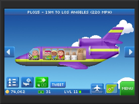 Скачать игру Pocket Planes - Airline Management