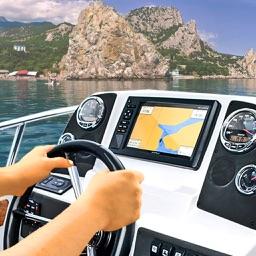 Driver Boat 3D Sea Crimea