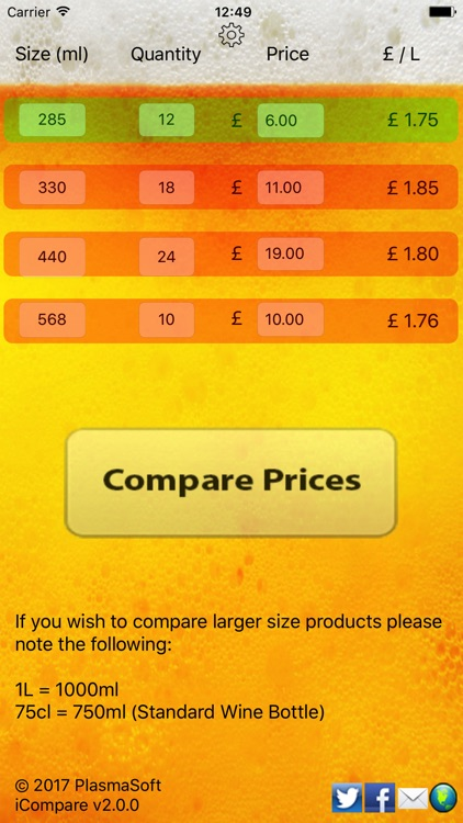 iCompare Prices screenshot-0