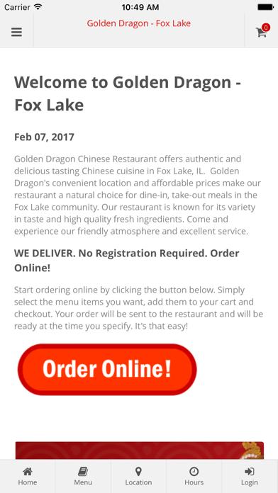 Golden Dragon - Fox Lake screenshot one