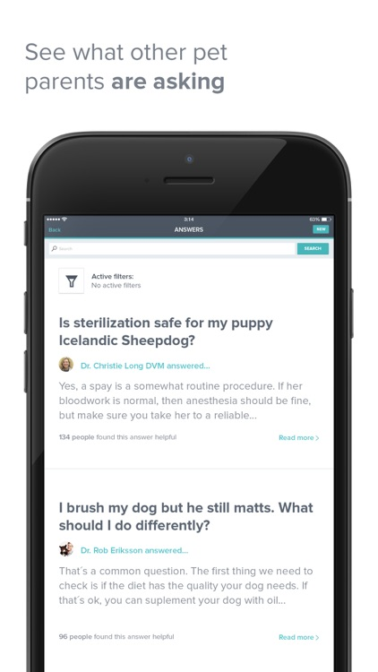 PetCoach - Ask a vet for advice about your pet screenshot-4