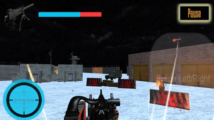US Army Gunner Battle City War